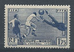 FRANCE - YT N°396 - 1 F. 75 Outremer - Coupe Mondiale De Football à Paris - Neuf* - TTB Etat - Unused Stamps