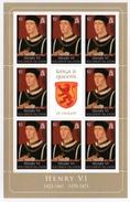 SOLOMON ISLANDS 2008 Kings & Queens Of England/Henry VI: Sheetlet Of 8 Stamps UM/MNH - Solomon Islands (1978-...)