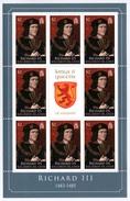 SOLOMON ISLANDS 2008 Kings & Queens Of England/Richard III: Sheetlet Of 8 Stamps UM/MNH - Solomon Islands (1978-...)