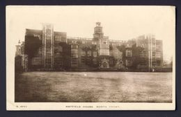 Hatfield House, North Front,  United Kingdon, England, Hertfordshire ~ Photo Post Card. - Hertfordshire