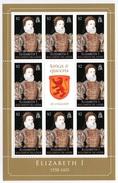 SOLOMON ISLANDS 2008 Kings & Queens Of England/Elizabeth I: Sheetlet Of 8 Stamps UM/MNH - Solomon Islands (1978-...)