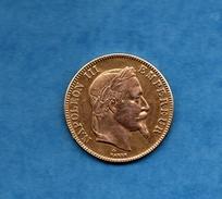 """""""FAUX"""" Napoleon 100 Francs """"or"""". 1856 - Frankrijk"""