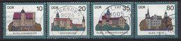 Germany (DDR) 1985  Burgen (o) Mi.2976-2979 - Used Stamps