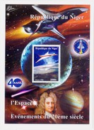 Niger  1998 Stamps  40 Anniversary Of NASA  Souvenir Sheet - Space