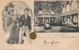 G116 - 73 - AIX-LES-BAINS - Savoie - La Salle De Jeux De La Villa Des Fleurs - Aix Les Bains