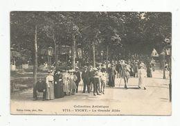 Cp, 03, VICHY , La Grande Allée , Ed : Giletta, N° 2711 , Voyagée 1908 - Vichy