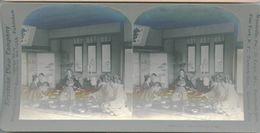 S0349 - JAPON -  The Wedding Feast - Stereoscopio