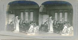 S0355 - JAPON -  The Bride Serving Sake To The Wedding Guests - Stereoscopio