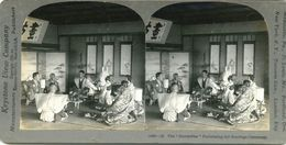 S0359 - JAPON -  The Butterflies Performing The Marriage Ceremony - Stereoscopio