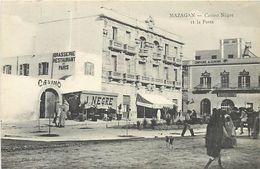 A-17.9915 :  MAROC. MAZAGAN. CASINO NEGRE ET LA POSTE - Marokko