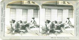 S0364 - JAPON - Naming The Baby - Stereoscopio