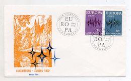Lussemburgo - 1972- Busta FDC -  EUROPA CEPT - Con Doppio Annullo- (FDC6078) - Europa-CEPT