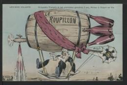 Illustrateur ORENS - LES ROIS VOLANTS - Dirigeable Francais Et Ses Provisions Garanties 7 Ans , Moteur à L'esprit De Vin - Orens