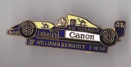 PIN'S THEME FORMULE 1  WILLIAMS  RENAULT  F 14 - Car Racing - F1