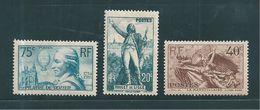France Timbre De 1936 N° N°313 A 315   Neuf ** Sans Charnières  Cote 65€ ( Vendu A 15%) - Frankreich
