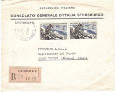 RACC. X ITALIA CONSOLATO GENERALE D'ITALIA STRASBURGO - Francia