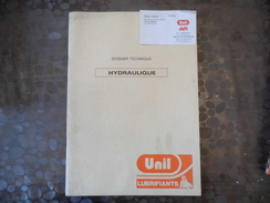 Document UNIL - Lubrifiant  Hydraulique - Hoguet - 59- La Chapelle D'armentieres - Carte De Visite - Old Paper