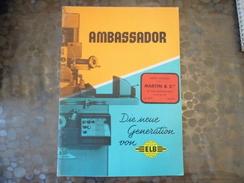 Document  ELB  Ambassador - Babenhaussen - Rectifieuse - Belle Illustration - Martin & Cie - Paris - Old Paper