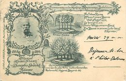 A-17.9961 : PFLANZET KAISER FRANZ JOSEPH'S-GEDENK BÄUME - Austria