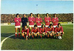621> Cartolina Squadra PIACENZA - Stagione 1974-75 = Omaggio Il Fulmine - Non Viaggiata - Calcio
