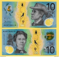 Australia 10 Dollars P-new 2017 UNC - Australia
