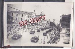 Au Plus Rapide Carte Photo Pakistan Karachi Défilé Militaire 10 Novembre 1950 Excellent état Engin Militaire - Pakistan