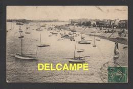 DF / 44 LOIRE ATLANTIQUE / REZÉ / TRENTEMOULT / VUE GENERALE DE LA RADE / CIRCULÉE EN 1910 - Altri Comuni