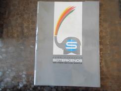 Document Soterkenos - Aero Ejecteurs - Paris -  - Carte De Visite - Old Paper