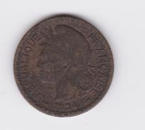 1 Franc Togo (Territoires Sous Mandat De La France) 1924  TTB à Nettoyer - Togo