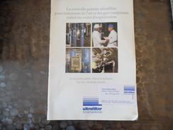 Document Ultra-filter - Filtre  Sécheurs  - Cergy - 95 - Carte De Visite - Vieux Papiers