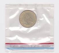 20 Francs 1977 Essai Sous étui. FDC - Djibouti