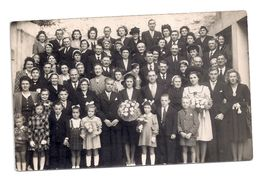 Photographie Ancienne -mariage - Anonymous Persons
