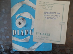 Documents Ets - Carré - Isolant - Thumesnil - 59 - Vieux Papiers