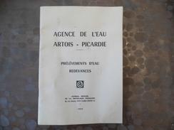 Documents Agence De L'eau - Artois - Picardie -prélèvement & Redevances - 1983 - Décrets & Lois