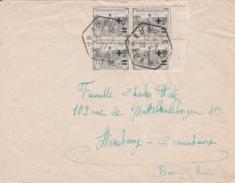 Orphelins Sur Lettre D'Aubure  (Haut/Rhin) - 1921-1960: Modern Period