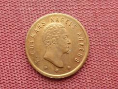 BELGIQUE Jeton Nagels Anvers - Monetary / Of Necessity