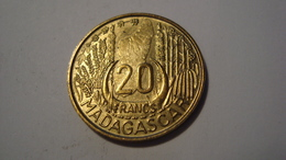 MONNAIE MADAGASCAR 20 FRANCS 1953 - Madagascar