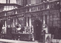 Neuchâtel : Carte Postale Publicitaire D' Auguste Loup, Meubles Anciens - Cp. 10 X 15 De Peu D'épaisseur - VD Vaud