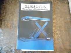 Document Hymo  - Tables élévatrice - Photo Image 1980 - Titres De Transport