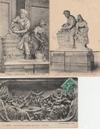 17 / 11 / 80  -  LOT  DE  7  CPA  DE  REIMS  Toutes Scanées - Postcards