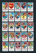 ROMANIA 1977 - Stemmi Rumeni- 25 Valori - MNH - Michel 3442-66 - 1948-.... Repubbliche