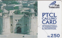 Pakistan, RPT01, Rs.250 PTCL Lahore Fort, 2 Scans. - Pakistan