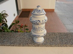 Farmacia - Erboristeria - Ceramica - VINTAGE - Ceramica & Terraglie