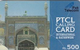 Pakistan, RPT02, Rs.500 PTCL Lahore Fort, 2 Scans. - Pakistan