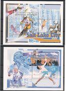 GUINEE J.O. Salt Lake City 2002 N° Y/T : 205/206** - Winter 2002: Salt Lake City
