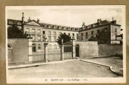 Saint-Lô (Manche) Le Collège - Saint Lo