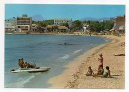 Espagne--MALLORCA-- C' AN PASTILLA--Playas  (animée , Pédalo) - Espagne