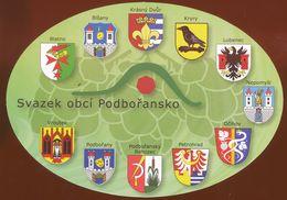 Postcard Czech Republlic :  Heraldry, Coats Of Arms - Czech Republic