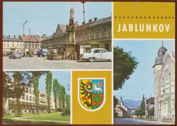Postcard Czech Republic :  Jablunkov, Multiview Heraldry, Coats Of Arms - Czech Republic