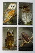Thailand Stamp 2013 Naoturnal Bird - Owls - Tailandia